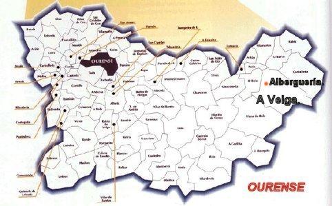 Albergueria Su Localizacion En A Veiga Ourense Espana